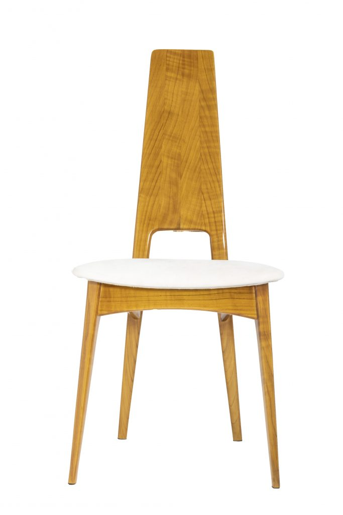 Hubble chair rossa